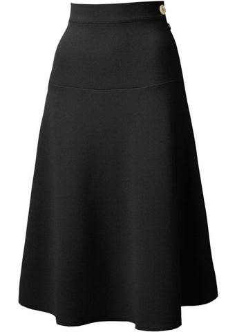 Pretty Retro Lovely 40's Swing skirt black