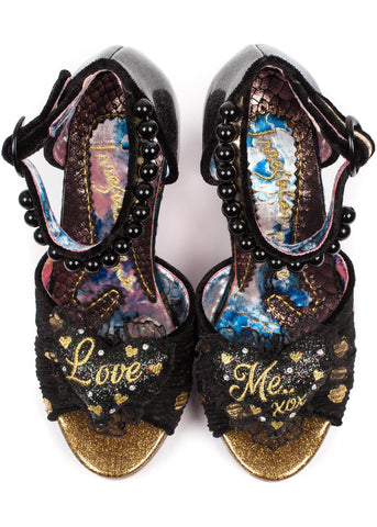 Irregular Choice Shoely Not Pumps Black