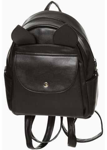 Banned Waverly Bat Backpack Black