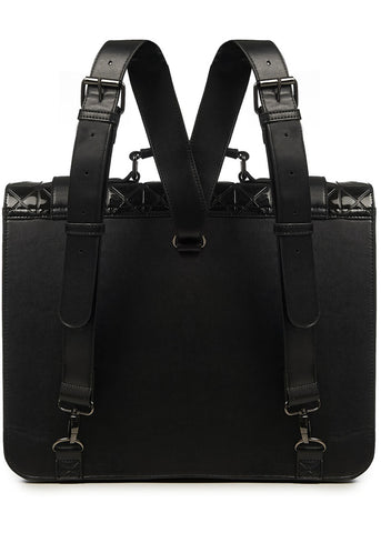 Banned Prism Messenger Bag Black