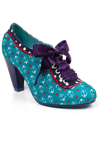 Poetic Licence Backlash Anchor Pump Teal Color