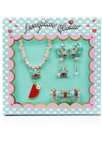 Irregular Choice Frog Prince Jewelry Set