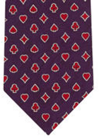 The Tie Studio Playing Cards Tie