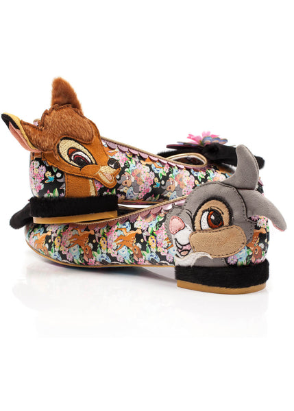Irregular Choice Disney Bambi Forest Friends Flats