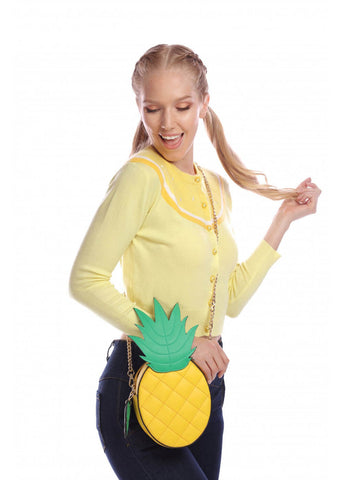 Collectif Mamba Pineapple Bag Yellow