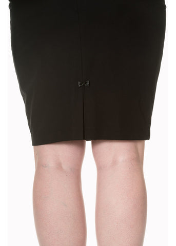 Banned Guiding Light Pencil Skirt Black