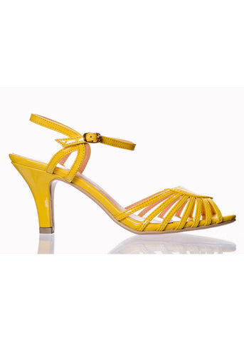 Banned Amelia 50's Pumps Yellow