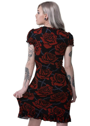 Killstar Eden Doll Dress Black