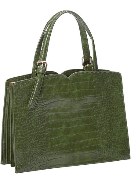 Banned Indiscreet 50's Bag Green