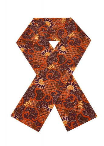Bright & Beautiful Bali Tile 70's Scarf Multi