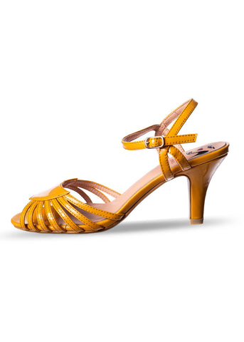 Banned Amelia 50's Pumps Mustard
