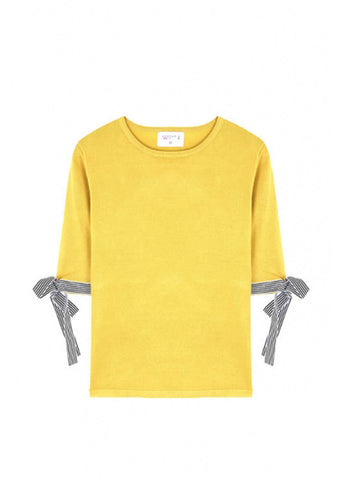 Compania Fantastica July Jumper Yellow