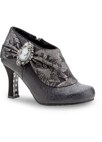 Joe Browns Couture Mystery Brocade 20's Booties Black