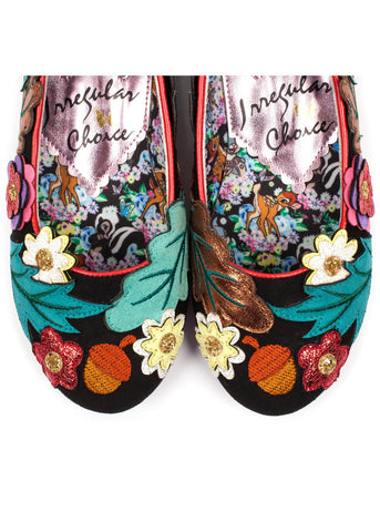 Irregular Choice Disney Bambi Sweet Little Prince Flats