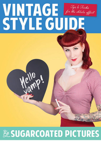 Boek Sugarcoated Pictures: Vintage Style Guide Book
