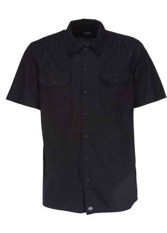 Dickies Mens Talpa Regular Fit Shirt Black