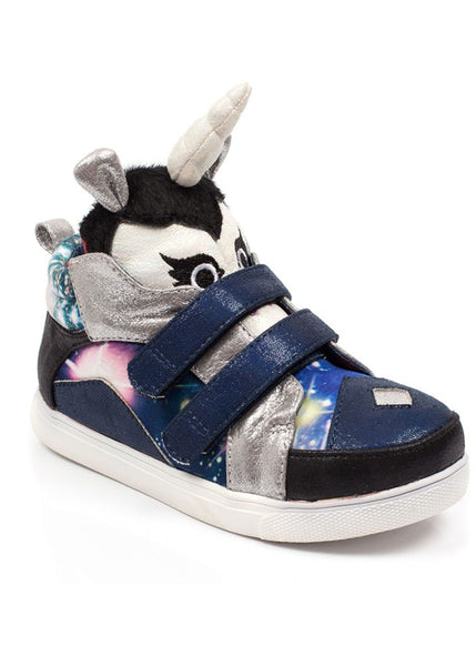 Irregular Choice Kids Unicorn Dancing Shoes Black