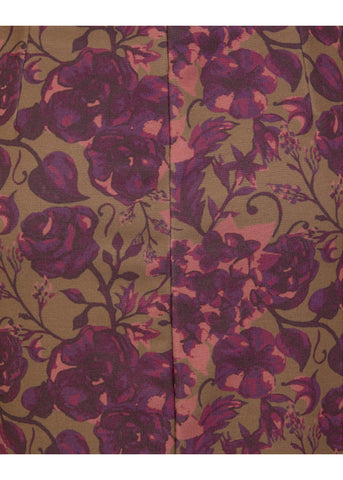 Lindy Bop Tiffany Floral 60's Dress Berry