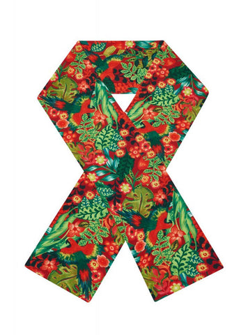 Bright & Beautiful Tropical Paradise 70's Scarf Multi