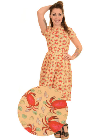 Run and Fly Crab Buffet 50's Dress