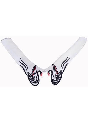 Banned Black Swans Collar White