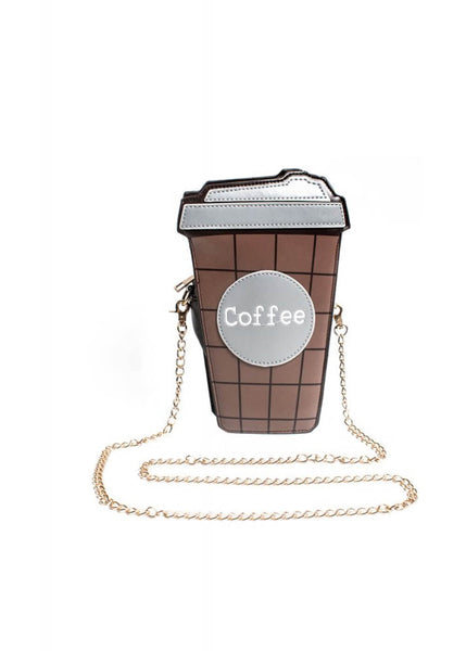 Collectif Coffee Cup Bag Brown