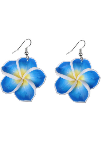 Succubus Hawaii Sweetheart Earrings Blauw