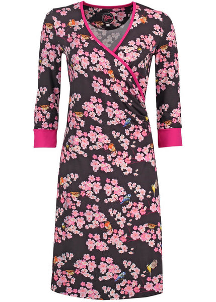 Tante Betsy Mila Summer My Garden 60's Dress Black