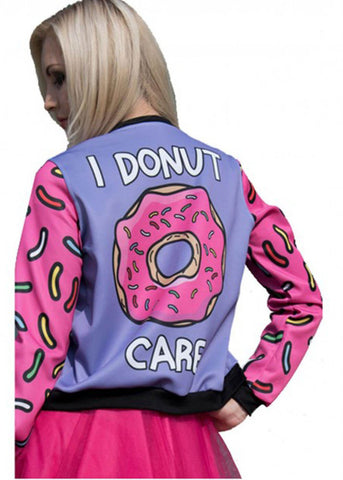 Kukubird Donut Care Bomber Jacket