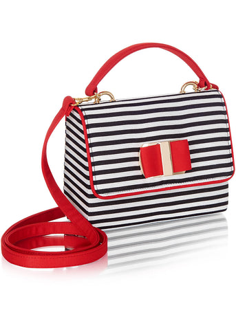 Ruby Shoo Casablanca Purse Black Red
