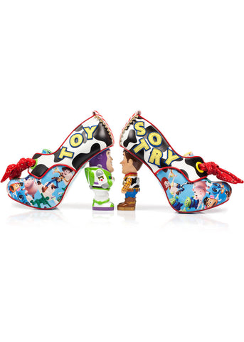 Irregular Choice Toy Story You've Got A Friend Pumps Multi