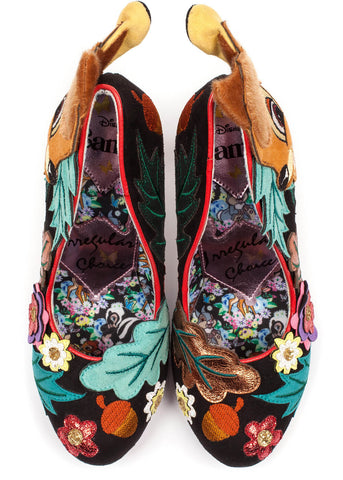 Irregular Choice Disney Bambi Prince of the Forest Pumps Multi