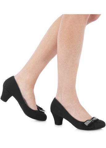 Ruby Shoo Lily Pumps Black