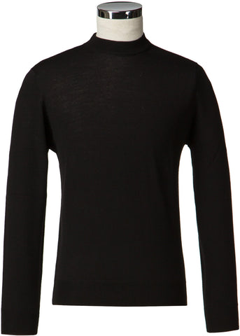 Gibson London Turtle Neck Jumper Black