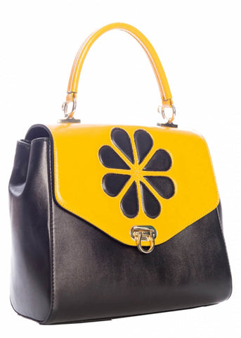 Banned Waterlily 60's Bag Mustard