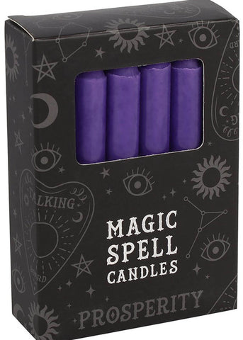 Succubus Protection Spell 12 Candles Purple