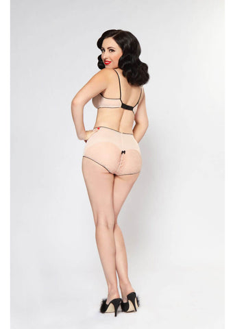 Bettie Page Lingerie Hello Sweetheart Bralette Blush