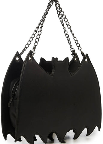 Banned Black Celebration Backpack Handbag Black