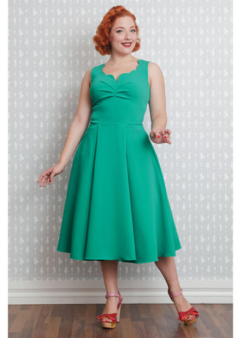 Miss Candyfloss Kiara Darling 50's Dress Jade