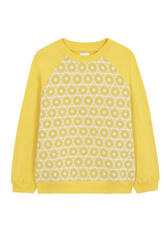 Compania Fantastica Lindy Hop 60's Sweater Yellow