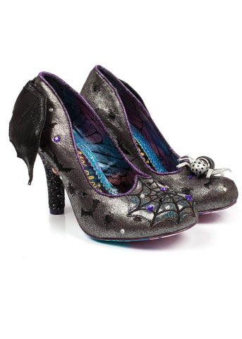 Irregular Choice Special Halloween Edition Batty For Your Pumps Black