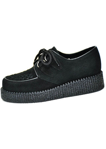Steelground Suède Creeper Black