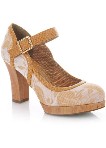 Ruby Shoo Cassandra Pumps Sand Color