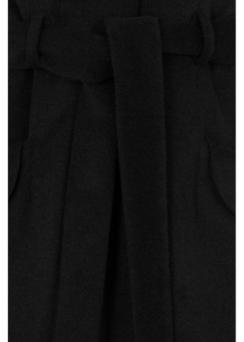 Collectif Carmella 50's Pencil Coat Black