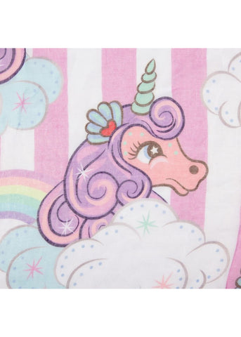 Irregular Choice Lady Daisy Unicorn Parade Shawl Pink