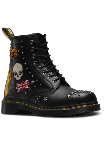 Dr. Martens 1460 Rock & Roll Boots Black