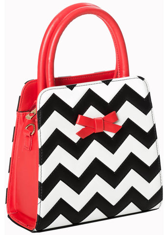 Banned Chevron 60's Bag