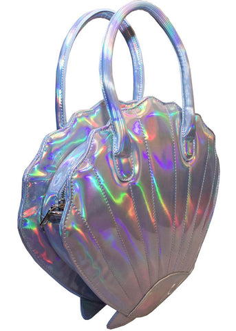 Collectif Adella Shell Bag Silver