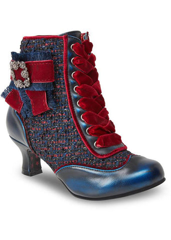 Joe Browns Couture Duchess 20's Booties Navy