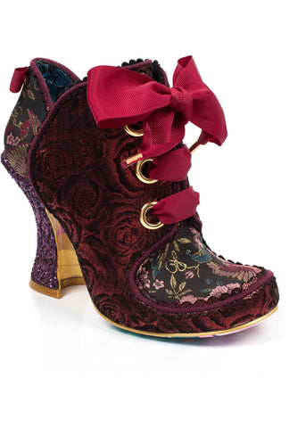 Irregular Choice Baroness Boots Red